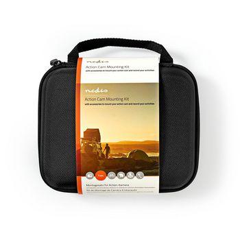 ACMK01 Bevestigingsset actiecamera   7 mounts inbegrepen   reisetui Verpakking foto