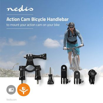 ACMK03 Bevestiging actiecamera | fietsstuur Product foto