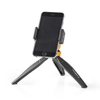ACMT10BK Driepoot | max. 1,5 kg | 16 cm | zwart/oranje Product foto