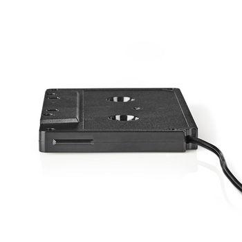 ACON2200BK Cassette-adapter | 3,5 mm mannelijk | zwart Product foto