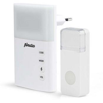 ADB-19 Plug-in draadloze deurbel set 220v 36 melodieën / led-indicator wit