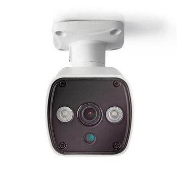 AHDCBW10WT Cctv-beveiligingscamera | bullet | hd | voor gebruik met analoge hd-dvr