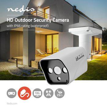 AHDCBW10WT Cctv-beveiligingscamera | maximale resolutie: hd 720p | nachtzicht: 20 m | netvoeding | beeld chip:  Product foto