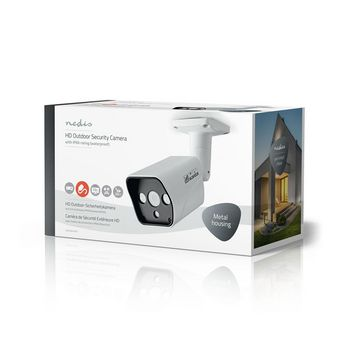 AHDCBW10WT Cctv-beveiligingscamera | maximale resolutie: hd 720p | nachtzicht: 20 m | netvoeding | beeld chip:  Verpakking foto