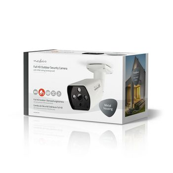 AHDCBW15WT Cctv-beveiligingscamera | maximale resolutie: full hd 1080p | nachtzicht: 25 m | netvoeding | beeld  Verpakking foto