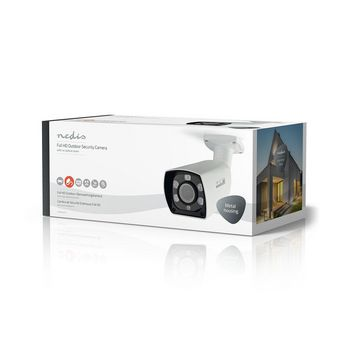 AHDCBW20WT Cctv-beveiligingscamera | bullet | full hd | voor gebruik met analoge hd-dvr Verpakking foto
