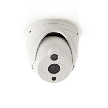 AHDCDW15WT Cctv-beveiligingscamera | dome | full hd | voor gebruik met analoge hd-dvr Product foto