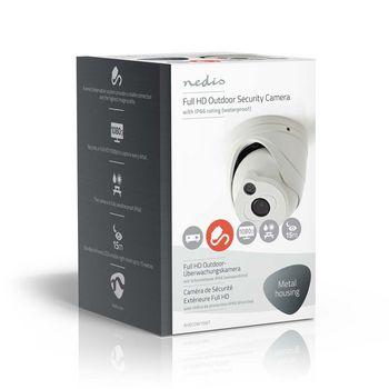 AHDCDW15WT Cctv-beveiligingscamera | dome | full hd | voor gebruik met analoge hd-dvr Verpakking foto