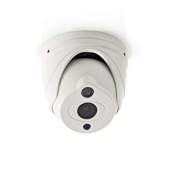 AHDCDW15WT Cctv-beveiligingscamera | dome | full hd | voor gebruik met analoge hd-dvr