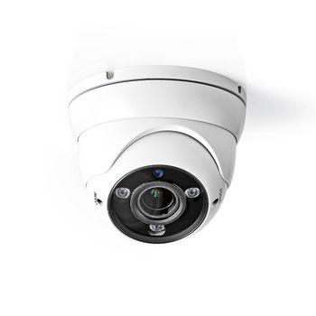 AHDCDW20WT Cctv-beveiligingscamera | dome | full hd | voor gebruik met analoge hd-dvr