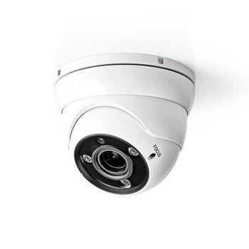 AHDCDW20WT Cctv-beveiligingscamera | maximale resolutie: full hd 1080p | nachtzicht: 30 m | netvoeding | beeld