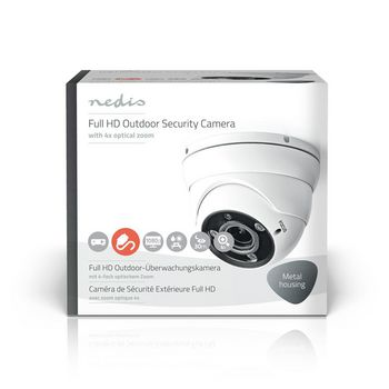 AHDCDW20WT Cctv-beveiligingscamera | maximale resolutie: full hd 1080p | nachtzicht: 30 m | netvoeding | beeld  Verpakking foto