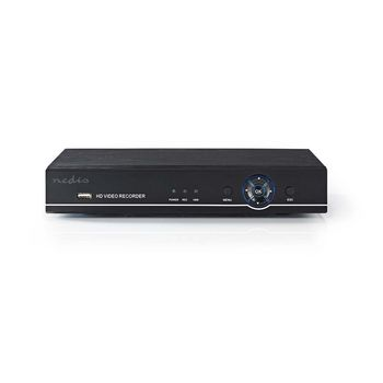 AHDR208CBK Cctv-beveiligingsrecorder | 8-kanaals | full hd | inclusief 1 tb hdd