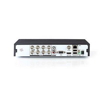 AHDR208CBK Cctv-beveiligingsrecorder | 8-kanaals | full hd | inclusief 1 tb hdd Product foto