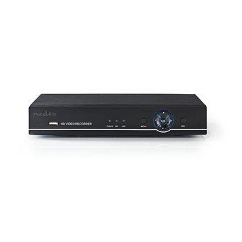 AHDR208CBK Cctv-beveiligingsrecorder   8-kanaals   full hd   inclusief 1 tb hdd