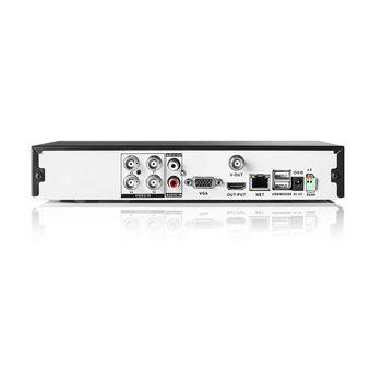 AHDS204CWT4 Cctv-beveiligingsrecorder, set | 4x camera\'s inbegrepen | full hd | inclusief 1 tb hdd Product foto