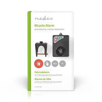 ALRMB10BK Fietsalarm | instelbare gevoeligheid | eenvoudig instelbaar | zwart Verpakking foto