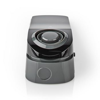 ALRMDW20BK Lichtgewicht deurstop met waterdetectie sensor en ingebouwde 85 db sirene