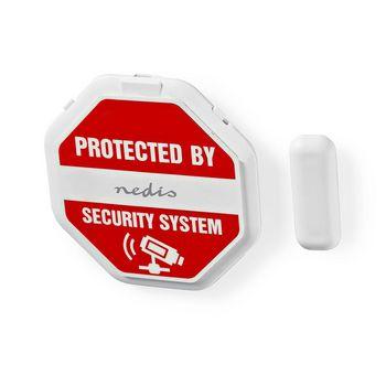ALRMGBD20WT Dun glasbreukmelderalarm voor deuren / ramen   ingebouwde sirene Product foto