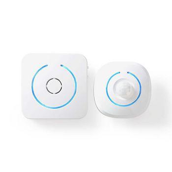 ALRMMW20WT Zoemer bewegingsdetector home security | 8 ringtones | seint met licht en geluid In gebruik foto