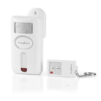ALRMMW30WT Bewegingsmelder met alarm | batterij gevoed | 1x cr2032 / 3x aa | 85 db | detectiebereik: 6 m | acti Product foto