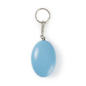 ALRMP10TQ Persoonlijk veiligheidsalarm | lichtgewicht | ≥ 85 db-alarm | turquoise In gebruik foto