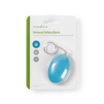 ALRMP10TQ Persoonlijk veiligheidsalarm | lichtgewicht | ≥ 85 db-alarm | turquoise Verpakking foto