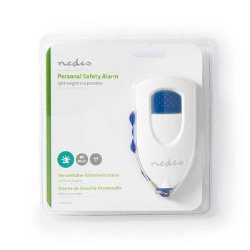 ALRMP40WT Persoonlijk veiligheidsalarm   lichtgewicht   ≥ 85db-alarm   wit  foto