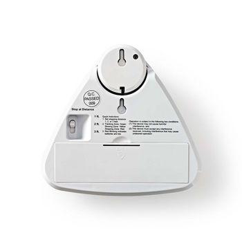 ALRMPA10WT Park assist voor auto | 3 afstanden | uitneembare lamp | waarschuwing zwakke batterij In gebruik foto
