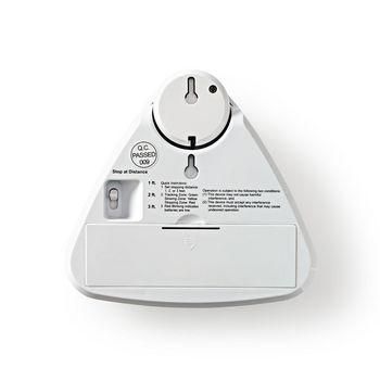 ALRMPA10WT Park assist voor auto | 3 afstanden | uitneembare lamp | waarschuwing zwakke batterij Product foto