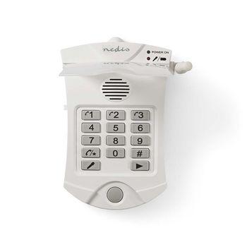 ALRMPD10WT2 Kiezer voor persoonlijk veiligheidsalarm | pstn | 3 programmeerbare nummers | werkt tot 60 m In gebruik foto