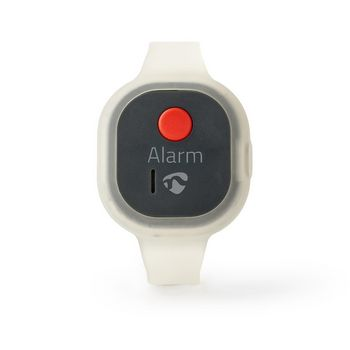ALRMPW20AT Persoonlijk veiligheidsalarm | waterdicht | ontwerp met polsbandje | ≥ 85db-alarm | knipperend