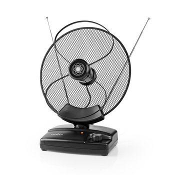 ANIR2503BK700 Hdtv-antenne voor binnen | 0 - 25 km | versterking 30 - 36 db | fm / vhf / uhf | zwart Product foto