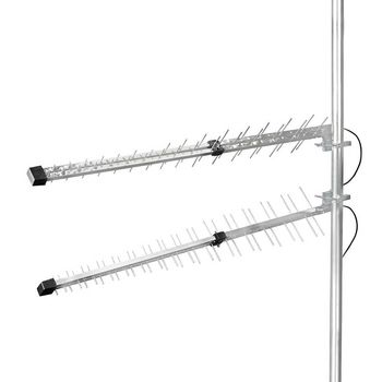 ANOR4G30ME 3g / 4g-antenne | gsm / 3g / 4g / 5g | voor buiten | 698-2700 mhz | versterking: 15 db | zilver