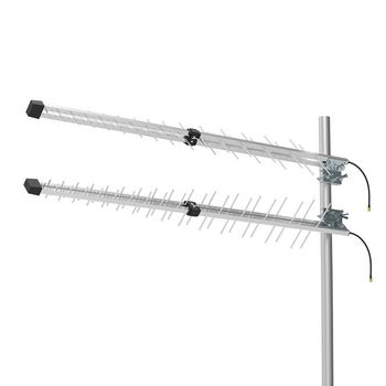 ANOR4G30ME 3g / 4g-antenne | gsm / 3g / 4g / 5g | voor buiten | 698-2700 mhz | versterking: 15 db | zilver Product foto