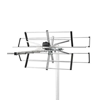 ANOR5110ME Tv-antenne voor buiten | max. 11 db versterking | vhf: 170 - 230 mhz | uhf: 470 - 694 mhz | 11 compo