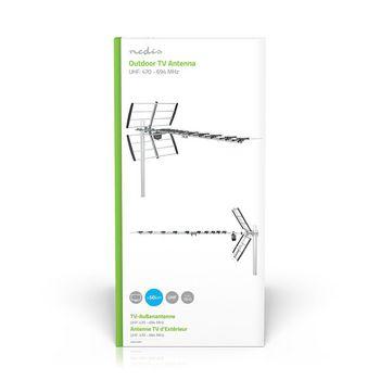ANOR5130ME Tv-antenne voor buiten | max. 13 db versterking | uhf: 470 - 694 mhz | 13 componenten  foto
