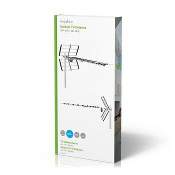 ANOR5130ME Tv-antenne voor buiten | max. 13 db versterking | uhf: 470 - 694 mhz | 13 componenten Verpakking foto