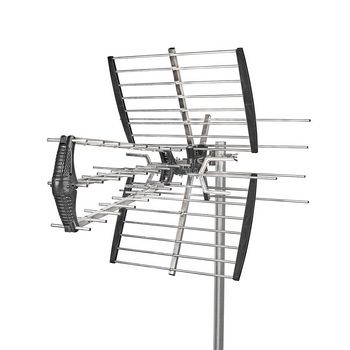 ANORUV10L8ME Outdoor tv antenna | max. 14 db gain | vhf: 170 - 230 mhz | uhf: 470 - 790 mhz Product foto