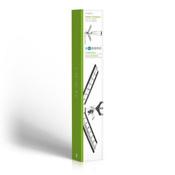 ANORUV10L8ME Outdoor tv antenna | max. 14 db gain | vhf: 170 - 230 mhz | uhf: 470 - 790 mhz Verpakking foto