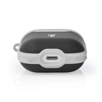 APCE100BKGY Airpods case   geschikt voor merken: apple   geschikt voor: airpods 1st generation / airpods 2nd gen Product foto