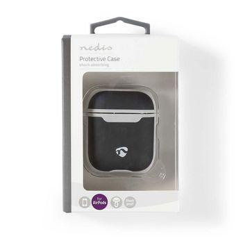 APCE100BKGY Airpods case   geschikt voor merken: apple   geschikt voor: airpods 1st generation / airpods 2nd gen  foto