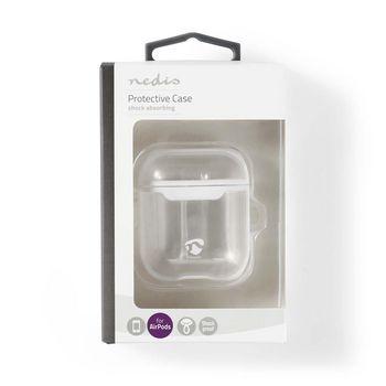 APCE100TPWT Airpods case | geschikt voor merken: apple | geschikt voor: airpods 1st generation / airpods 2nd gen  foto