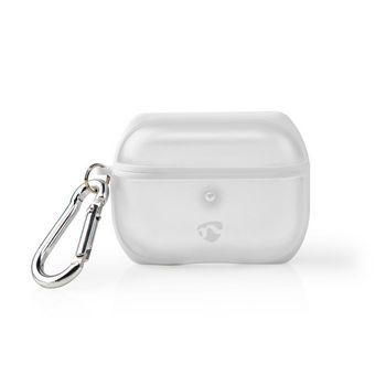 APPROCE100TPWT Airpods case   geschikt voor merken: apple   geschikt voor: airpods pro   hardcase   ja   transparan Product foto