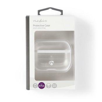 APPROCE100TPWT Airpods case   geschikt voor merken: apple   geschikt voor: airpods pro   hardcase   ja   transparan  foto