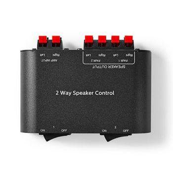 ASWI2602BK Speaker control box | 2-poorts | klemmen | luidspreker impedantie: 4-16 ohm | maximale belasting per Product foto