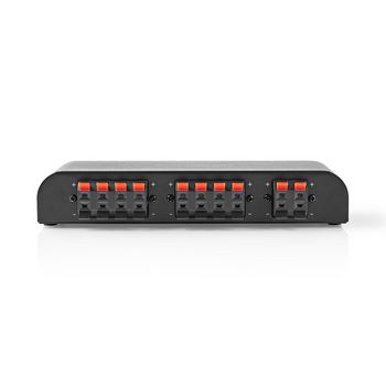 ASWI2604BK Speaker control box | 4-poorts | klemmen | luidspreker impedantie: 4-16 ohm | maximale belasting per Product foto