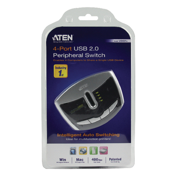AT-US421A Usb-switch aten Verpakking foto