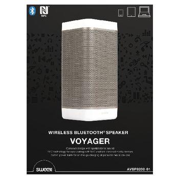 AVSP3200-01 Bluetooth-speaker 2.0 voyager 20 w wit/antraciet Verpakking foto