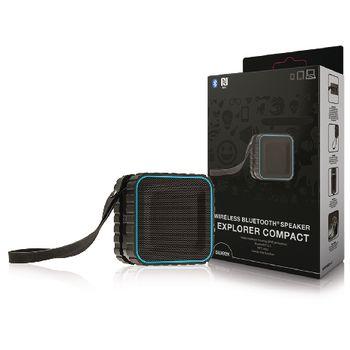 AVSP5000-07 Bluetooth-speaker 2.0 explorer 3 w ingebouwde microfoon zwart/blauw Verpakking foto